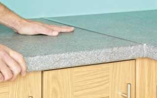 Чем заделать скол на столешнице на кухне: на пластиковой и из ДСП