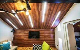 Ламинат на потолок: укладка своими руками – видео
