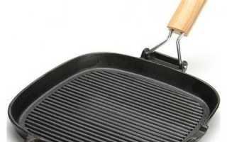 Сковорода гриль чугунная: какая лучше, квадратные и закрывающиеся, рейтинг