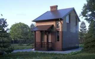 Планы одноэтажных домов с мансардой и гаражом