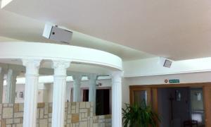 Потолочные колонки: встраиваемые динамики, акустические системы для дома, магазина