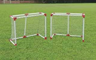 Размеры футбольных ворот