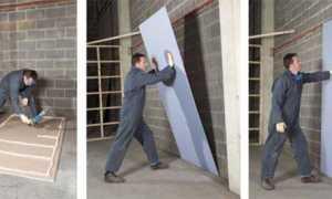 Выравнивание стен гипсокартоном без каркаса + видео