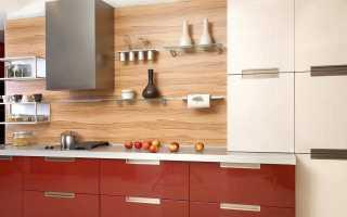 Фартук для кухни из ламината: как сделать своими руками, плюсы и минусы