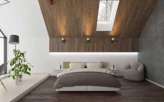Отделка второго этажа деревянного дома + фото
