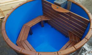 Купель для бани: пластиковая, композитная, из еврокуба, полипропилена