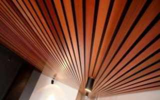 Алюминиевый реечный потолок: устройство, технические характеристики, монтаж, фото, видео
