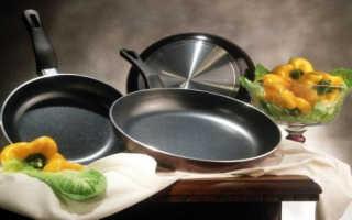 Сковорода с антипригарным покрытием: первое использование, какое покрытие лучше