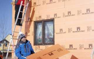 Как утеплить дом снаружи пеноплеском