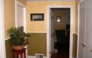 Комбинированные обои для коридора: фото дизайна
