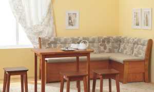Уголок кухонный мягкий: кожаная мебель со спальным местом, дизайн
