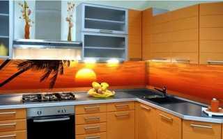 Фартук для кухни из МДФ: ДСП и ДВП с рисунком, фотопечатью, под плитку
