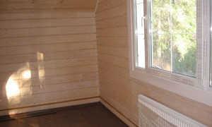 Материал для внутренней отделки стен на даче