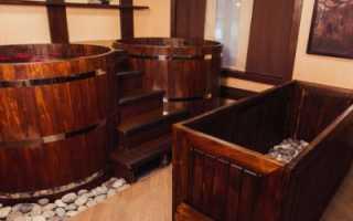 Офуро: японская баня своими руками