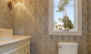 Обои для дизайна туалета + фото