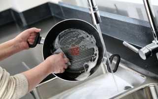 Как очистить тефлоновую сковороду от нагара и жира в домашних условиях