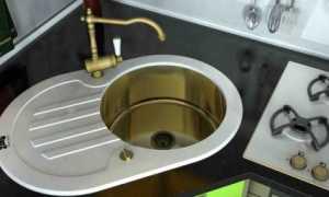 Маленькие раковины для кухни: кухонные мини-мойки 30 см и 35 см, обзор
