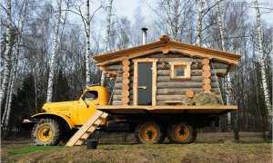 Баня на колёсах: прицеп, выездная, передвижная, мобильная, фото