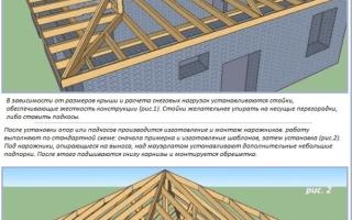 Как построить вальмовую крышу своими руками + видео
