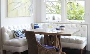 Уголок на кухню: мягкая, современная, красивая и стильная кухонная мебель