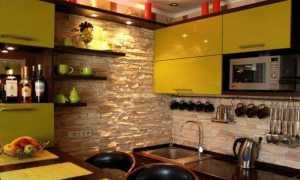 Кирпич в интерьере кухни: декоративный, искусственный, фото