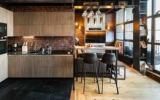 Полы на кухне: ламинат и плитка, комбинирование, сочетание, переход, фото