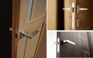 Магнитные замки и защелки для межкомнатных дверей