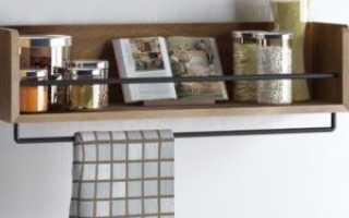 Как повесить полки на кухне: навесные и настенные, деревянные и со стеклом