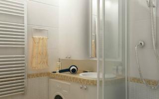 Освещение в ванной комнате + фото