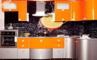 Кухни из эмалированного МДФ: плюсы и минусы фасада покрашенного под дерево