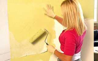 Как покрасить виниловые обои на флизелиновой основе