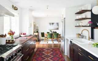 Ковер на кухню на пол: циновка, палас и дорожка для кухонного пола, что выбрать
