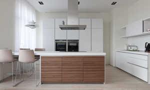 Кухни из массива дерева: деревянная мебель в кухонном интерьере в современном стиле