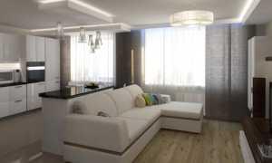 Планировка кухни-гостиной: 24 кв. метра, дизайн, фото