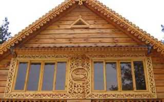 Резные наличники на окна в деревянном доме + шаблоны, фото