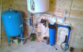 Как установить гидроаккумулятор для системы водоснабжения своими руками
