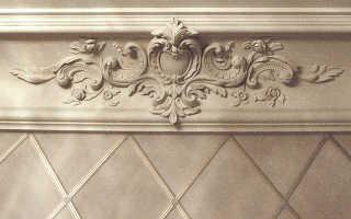 Гипсовые карнизы – лепнина на потолок