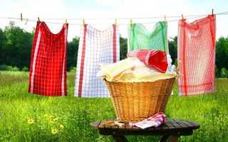 Как отстирать кухонные полотенца в домашних условиях без кипячения: супер рецепт