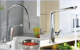 Гусак для смесителя на кухню: как снять и поменять излив у кухонного смесителя