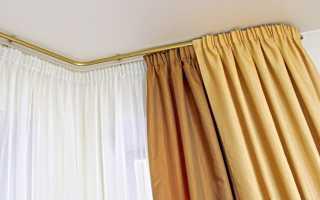 На что вешают шторы: люверсы, крючки, потолочный карниз, расстояние от пола