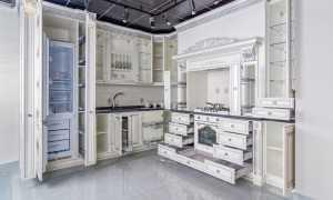Шкаф кухонный напольный: высокий, отдельно стоящий, с выдвижным ящиком