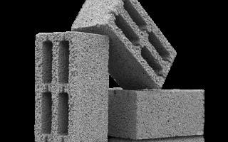 Стены из шлакобетонных блоков