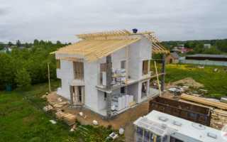 Какие нюансы возникают при строительстве загородного дома весной?