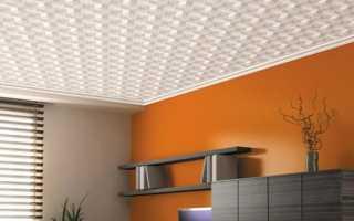 Потолочная плитка из пенополистирола: инжекционная, ламинированная, дизайн, фото