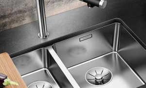 Угловая мойка для кухни: размеры раковины из нержавейки, искусственного камня