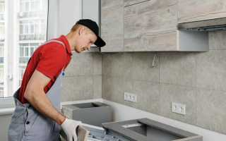 Установка кухонного гарнитура: сборка своими руками, видео