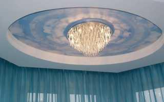 Люстры в гостиную под натяжной потолок + фото
