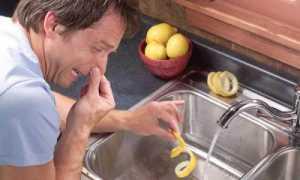 Запах из раковины на кухне, как устранить в домашних условиях подручными средствами