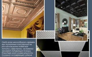 Панели потолочные с комплектующими Армстронг: профиль, угол, направляющие – технические характеристики