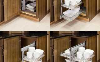 Волшебный уголок для кухни: механизм и размеры магических кухонных уголков